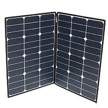 HITSAN Elfeland SP-21 120W 18V Folding Portable Solar Panel Photovoltaic Zipper Charge Caravan One Piece