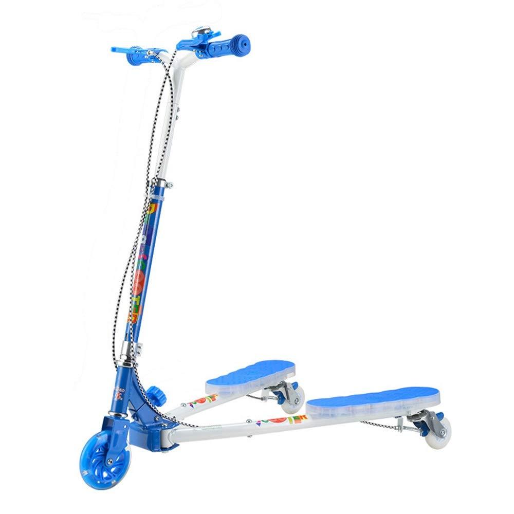 Runplayer 子供用三輪スクーター、漫画スクーター、クリエイティブスクーター、ミュージックフラッシュスクーター付き ( blue Color : Pure ( Pure blue ) B07QYY4LQW, 阿蘇の玄関キムチの里:ed099f92 --- pcaautomation.com.br