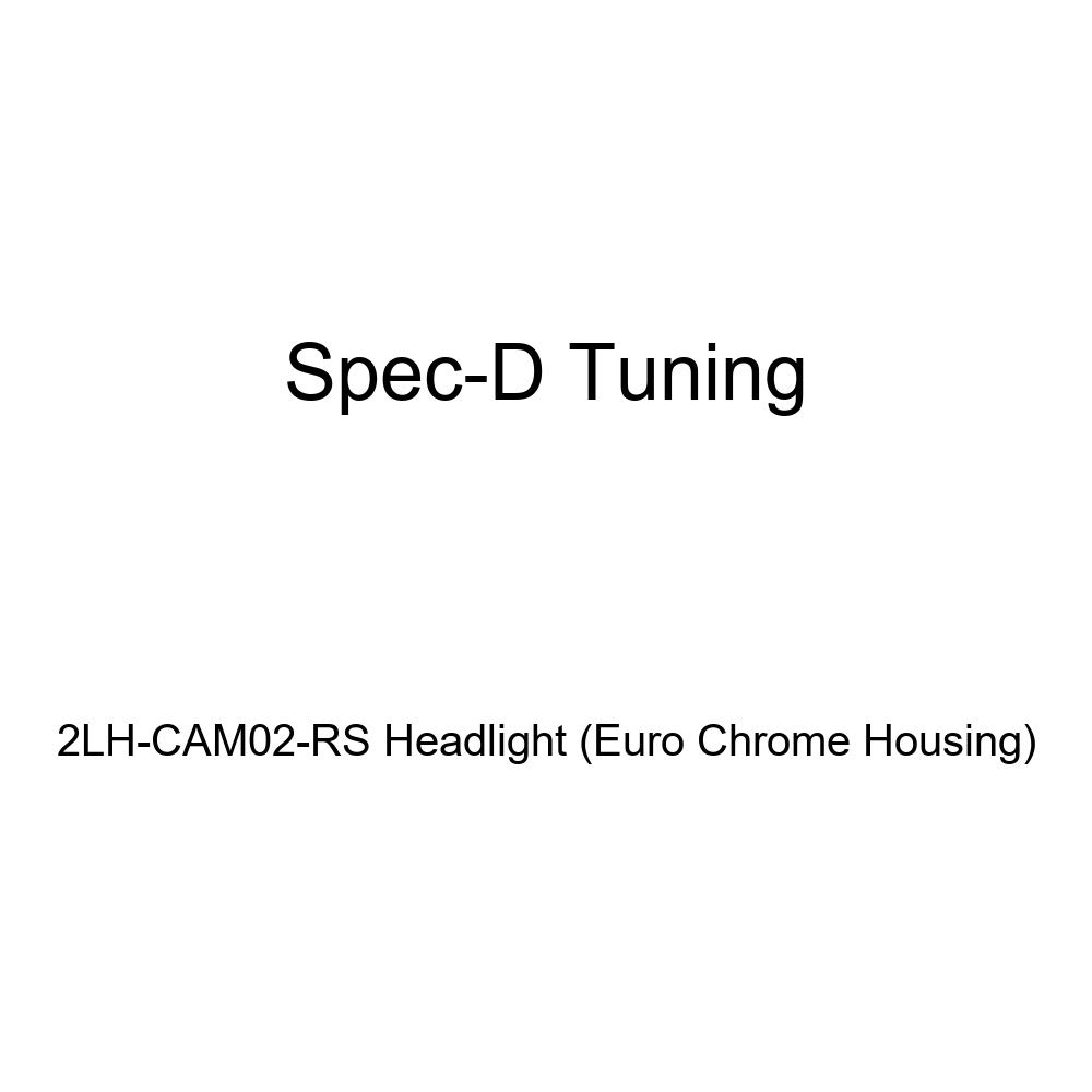 Euro Chrome Housing Spec-D Tuning 2LH-CAM02-RS Headlight