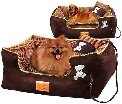 kondrao alta elástica perro cama con almohada y colchón estúpido ...