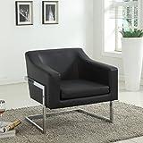Cheap Best Master Furniture Modern Club Chair, Medium, Black