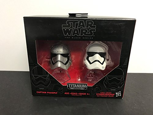 (Star Wars Black Series Titanium Series CAPTAIN PHASMA and STORMTROOPER 02)