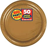Big Party Pack Gold Paper Plates | 9"