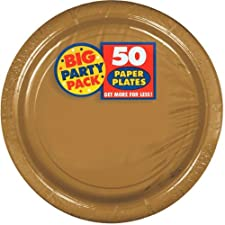 Gold Paper Plates bulk