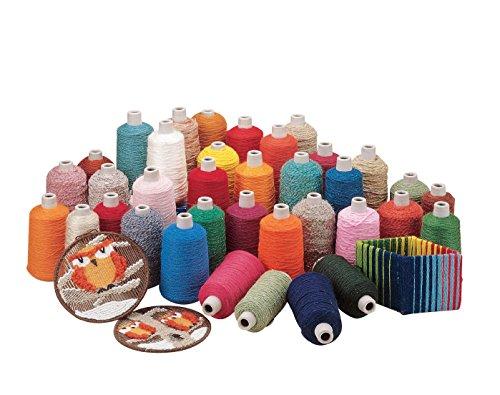 Pepperell Braiding SYA1 Braiding Super Yarn, Assorted Colors by Pepperell Braiding