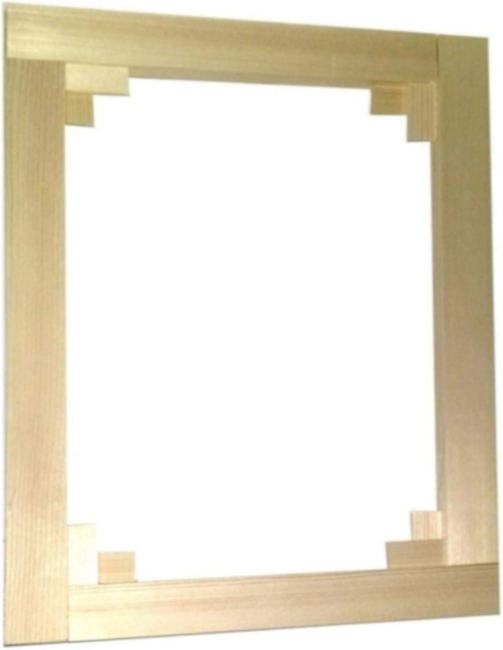 Niik Telaio Telai in Legno Gallery Sp 3 cm 20 x 40 x 3 cm Professionale per intelaiare Tele Stampe Quadri Foto Poster Made in Italy