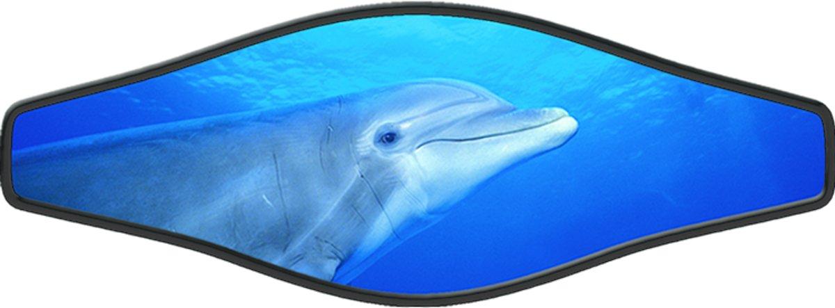 Innovative Scuba Concepts Scuba Diving Mask Strap Wrapper Live Dolphins