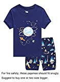 Family Feeling Space Baby Boys Shorts Set Pajamas 100% Cotton Clothes Toddler Kid 12-18 Months