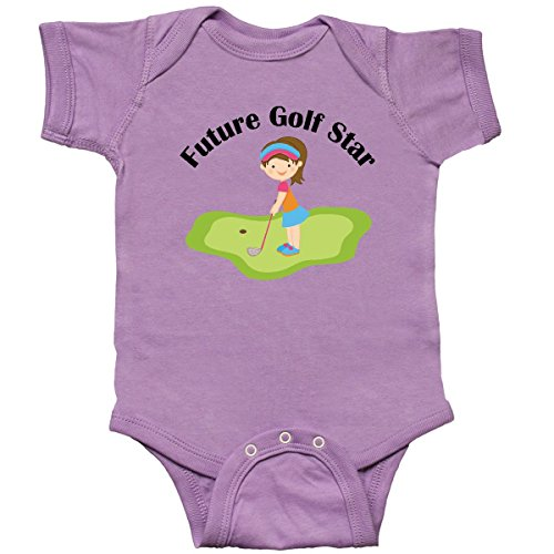 inktastic - Future Golf Star Girls Infant Creeper 6 Months Lavender 10c24 ()