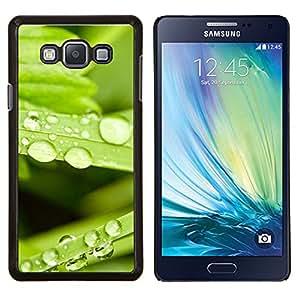 YiPhone /// Prima de resorte delgada de la cubierta del caso de Shell Armor - Planta Naturaleza Forrest Flor 80 - Samsung Galaxy A7 A7000