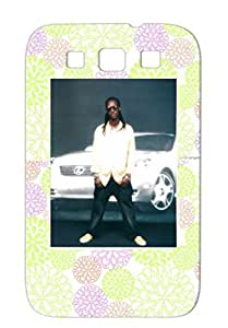 MELEKEL Rock Metal Music DANCEHALL REGGAE ARTIST MUSICIAN PRODUCER ENGINNER DJ SELECTOR Navy Cover Case For Sumsang Galaxy S3 TPU