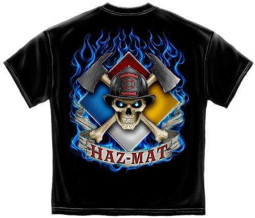 Firefighter Tools and Equipment | Haz Mat Firefighter Shirt ADD176-FF2053L