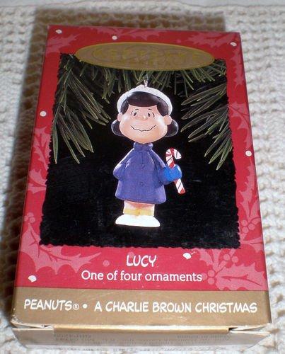Hallmark Keepsake Ornament Lucy Peanuts: A Charlie Brown Christmas Ornament