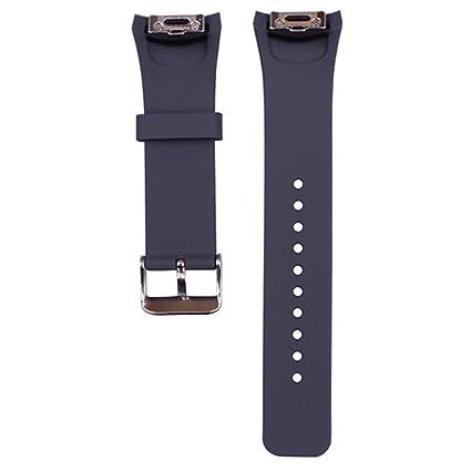 Amazon.com: 1pc Gran Reloj de banda/correa de silicona para ...