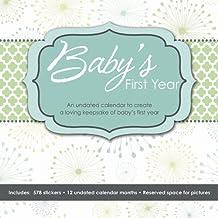 Baby's First Year (Perpetual w/bonus sticker sheet) 2015 Wall Calendar: Written by DateWorks, 2014 Edition, Publisher: Trends International [Calendar]