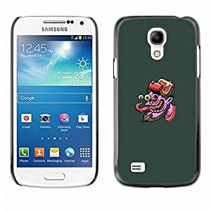 Stuss Case / Funda Carcasa protectora - Pulpo púrpura Cara - Pop Art - Samsung Galaxy S4 Mini i9190