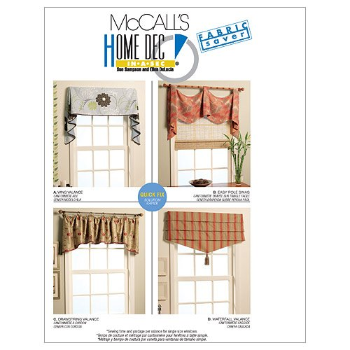Used, McCall's Patterns M5872 Window Treatments for sale  Delivered anywhere in USA
