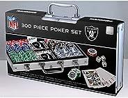 NFL Unisex-Adult 300-Piece Casino Style Poker Chip Set