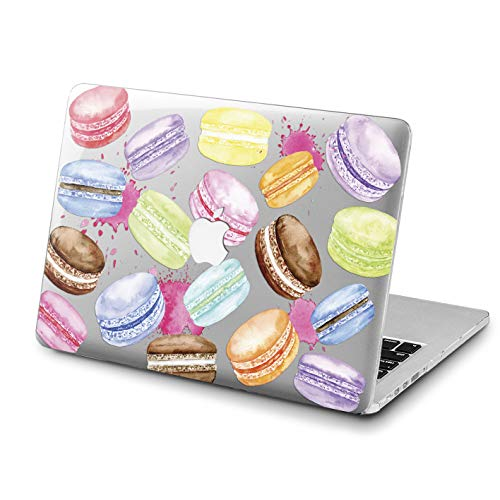 (Lex Altern MacBook Case Macaroon Pro 15 inch 2018 Pink Air 13 Mac A1990 1398 Cute Retina 12 Cover Pattern Food Hard 11 Delicious Apple 2017 Clear 2016 Protective Girly)
