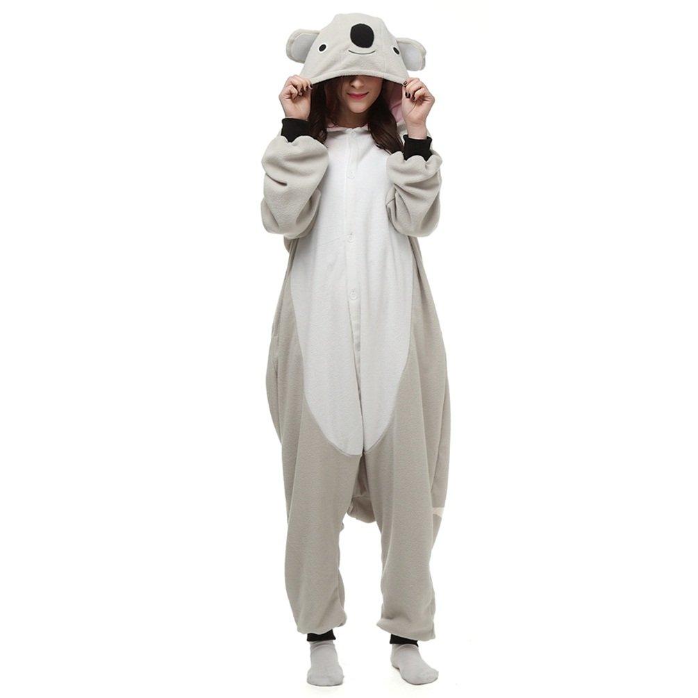 Weiterstar Adult Animal Onesie Pajamas Unisex Costumes Halloween Cosplay