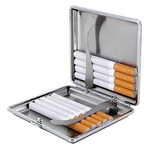 Per In Nero Sigarette Pelle Astuccio 0aqxwdnE0Y