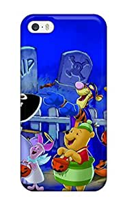 Rugged Skin Case Cover For Iphone 5/5s- Eco-friendly Packaging(disney Halloween )