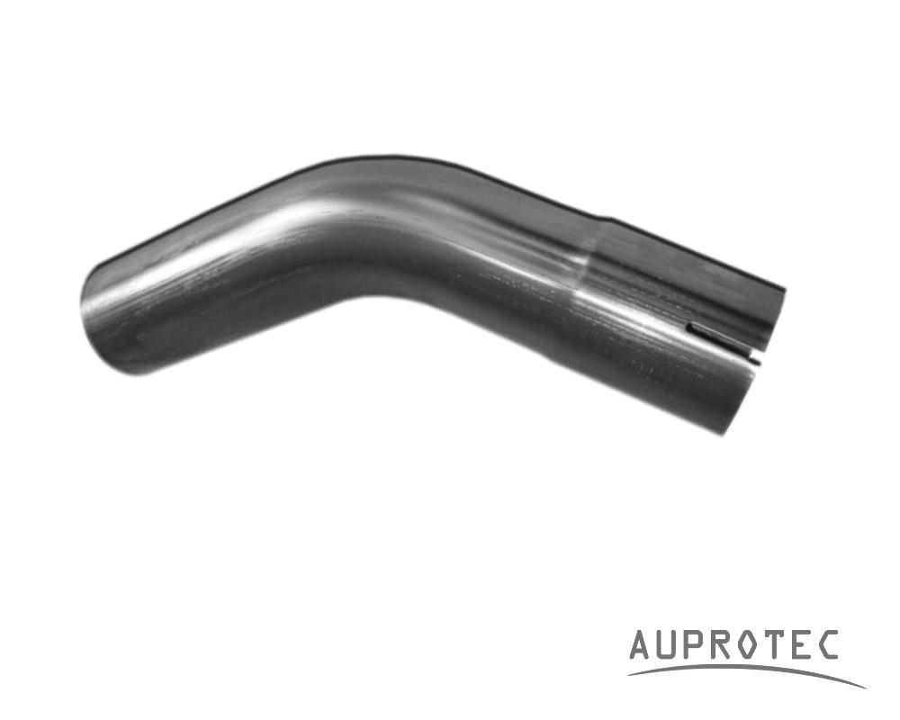 AUPROTEC Auspuff Rohrbogen 45 ° Grad Länge 450 mm einseitig aufgeweitet à˜ 38 42 45 50 55 60 65 mm Auswahl: (à˜ 50 mm AuàŸendurchmesser) ERNST