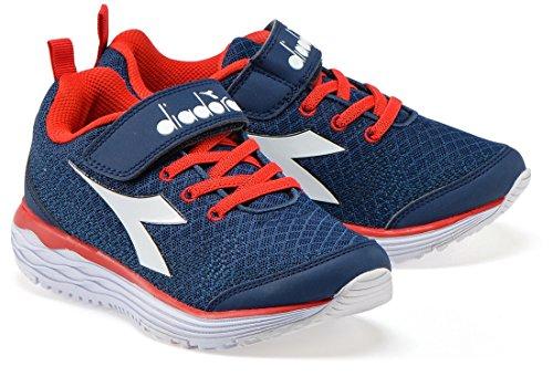 Diadora Jungen Sneaker C1141 - BLU CLASSICO/BIANCO