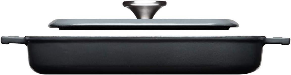Woll 628-2CI-030 Grillpfanne Iron 28x28 C Grey