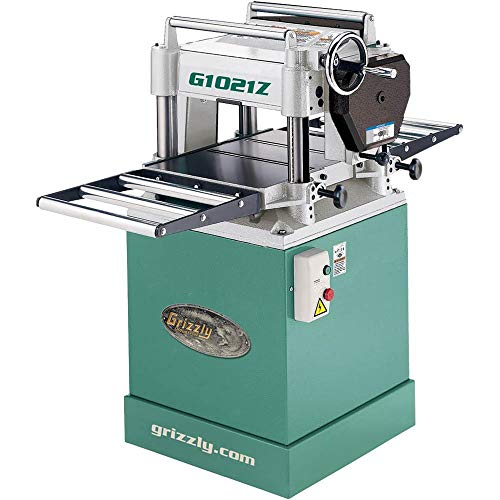 """Grizzly G1021Z - 15"""" 3 HP Planer w/Cabinet Stand"""