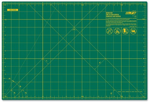 OLFA 24'' x 36'' Double-Sided, Self-Healing Rotary Mat by OLFA
