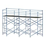 Buffalo Tools  EXT102105 Exterior Scaffold Tower, 21-Feet Long by 5-Feet wide by 10-Feet High