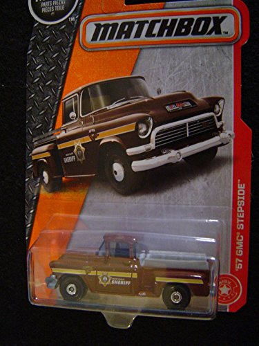 ('57 Boone County Sheriff's GMC Stepside Pickup Truck by Matchbox)