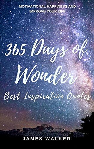 Wonder Book Quotes Impressive Amazon 48 Days Of Wonder Best Inspiration Quotes Motivational