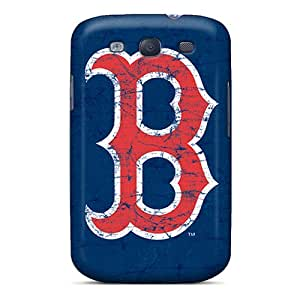 Samsung Galaxy S3 YAn15996TcAF Support Personal Customs Trendy Boston Red Sox Pictures Shock-Absorbing Hard Phone Cover -RichardBingley