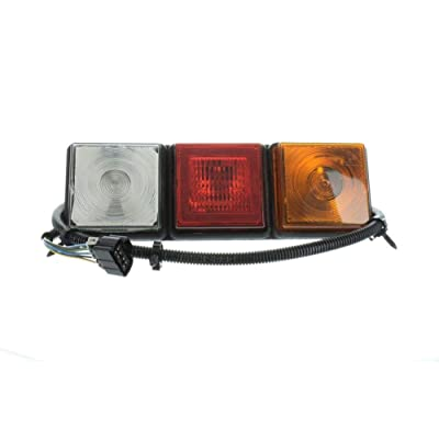 One Truck-Lite Rubbolite 8002 Truck Stop Turn Tail Backup Lamp Module 12V GMC GM: Automotive