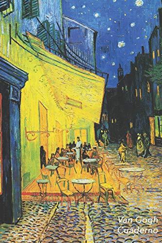 Van Gogh Cuaderno Terraza de café por la noche - Vincent van Gogh | Elegante y Practico | Libreta Para Escribir | Para Tomar Notas (Cuadernos Para Escribir)  [Lode, Parode] (Tapa Blanda)