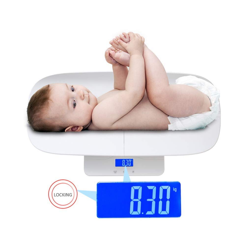 MILAIDI Intelligent Electronic Baby Scale Maternal and Child Weight Scale High-Precision Baby Scale Height Measuring Instrument Splittable Design by MILAIDI