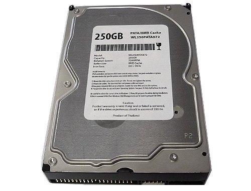 Internal Pata Hard Disk (White Label 250GB 8MB Cache 7200RPM ATA100 (PATA) IDE 3.5