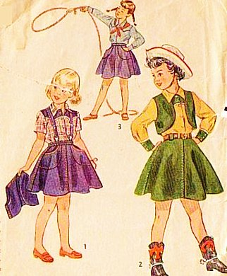 Amazon.com: Simplicity 3026 Cowgirl Western Outfit Sewing Pattern ...