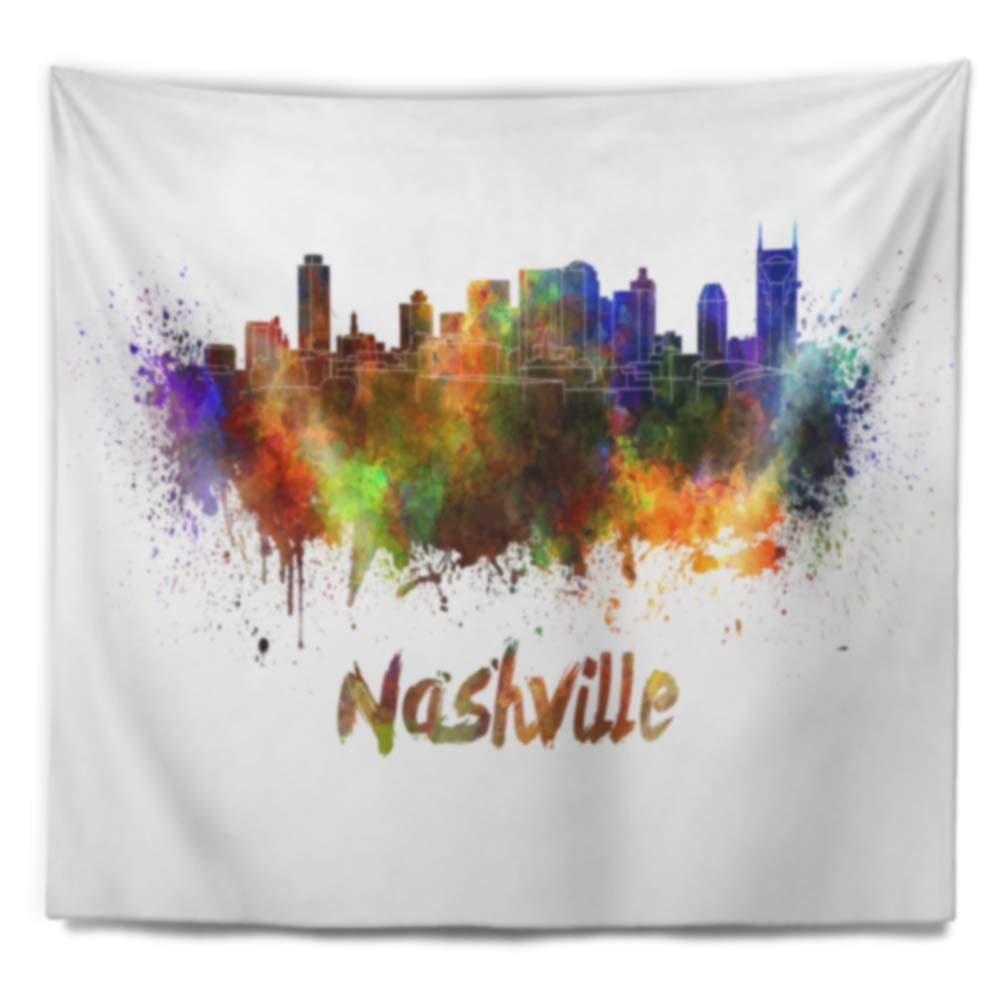 Designart TAP6567-39-32  Las Vegas Skyline Cityscape Blanket D/écor Art for Home and Office Wall Tapestry Medium 39 x 32 Created On Lightweight Polyester Fabric
