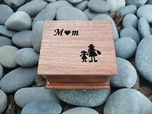 Music box, custom made music box, handmade music box, gift for mom, mother of bride gift, mother's day gift, simplycoolgifts