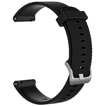 LOKEKE - Correa de Silicona de Repuesto para Reloj Inteligente Huawei Watch GT de 22 mm