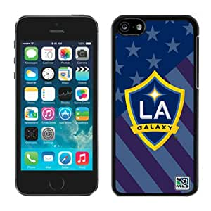 Fashionable And Antiskid Designed iPhone 5C Case MLS Los Angeles Galaxy For iPhone 5C Protective Skin Cover Case 01 Black