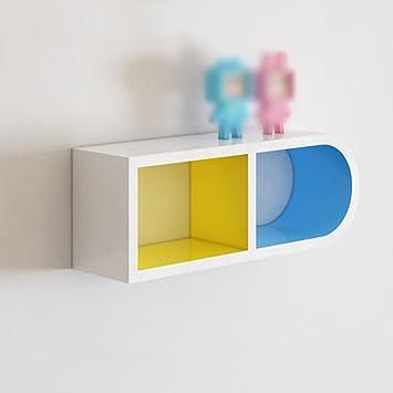 Wand Regal / Wohnzimmer Schlafzimmer Studie Ecke Regal / Wand Partition  Regal / Quadrat Wand