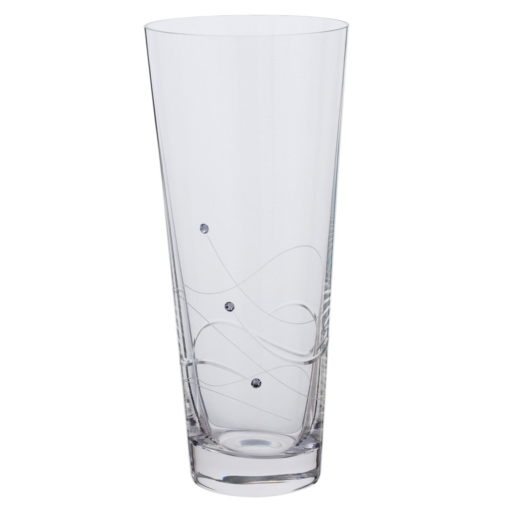 Dartington crystal medium conical vase glitz amazon dartington crystal medium conical vase glitz amazon kitchen home reviewsmspy