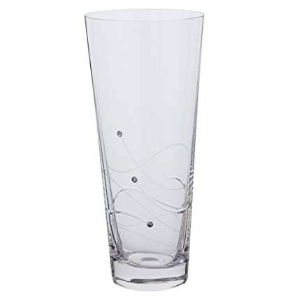 Amazon Dartington Glitz Conical Vase Medium Home Kitchen