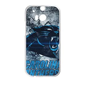 Garolina Panthers Pattern StylishHigh Quality Comstom Plastic case cover For HTC M8