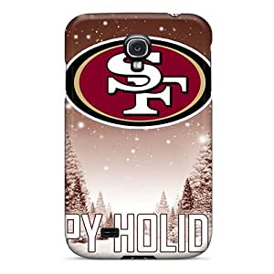 Drcases Scratch-free Phone Case For Galaxy S4- Retail Packaging - San Francisco 49ers