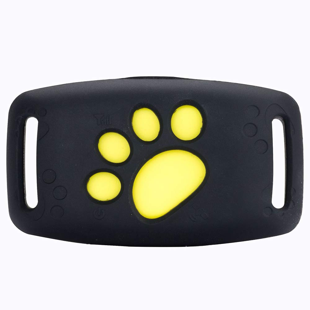 GPS Pet Tracker for Dog,Intelligent Activity Monitor with App and Real Time Waterproof Adjustable Collar Dogs/Cats Unlimited Range,GPS,LBS,Black